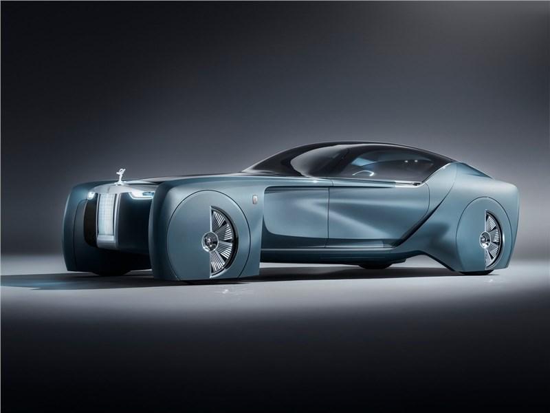 Rolls-Royce Vision Next 100 concept 2016 Без руля