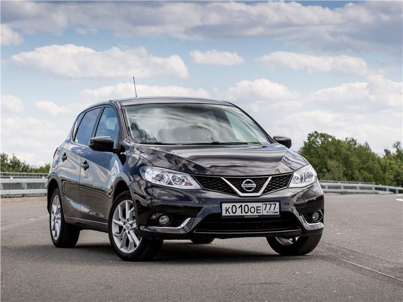 Nissan Tiida 2015 Прилив сил