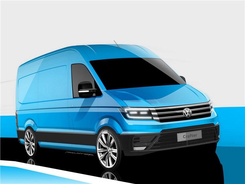Новый Volkswagen Crafter - Volkswagen Crafter concept 2016 Своими силами