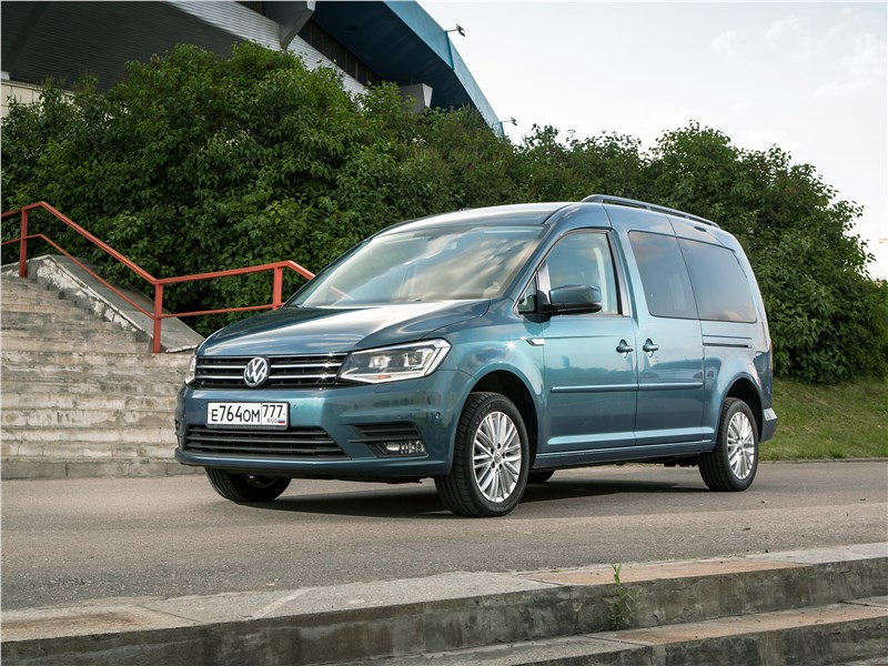 Volkswagen Caddy Maxi 2016 Программа максимум