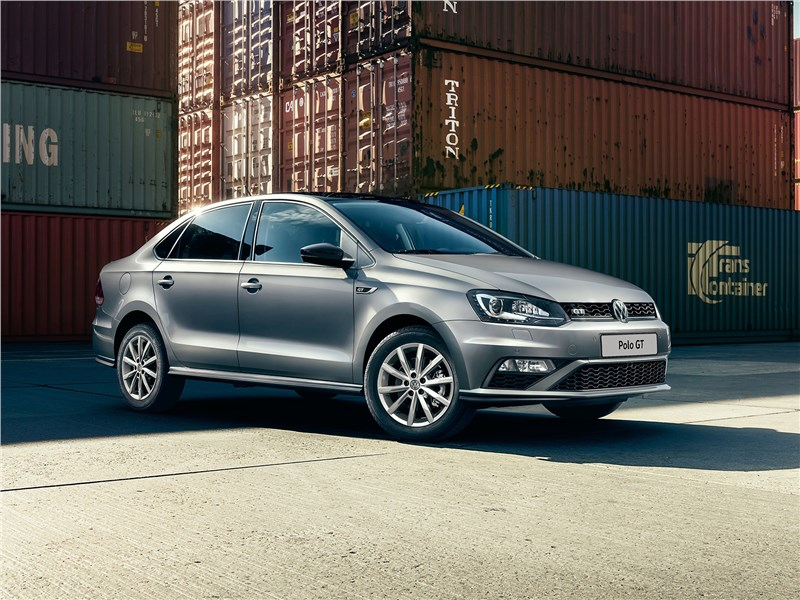 Новый Volkswagen Polo Sedan - Volkswagen Polo GT 2016 Погорячее!