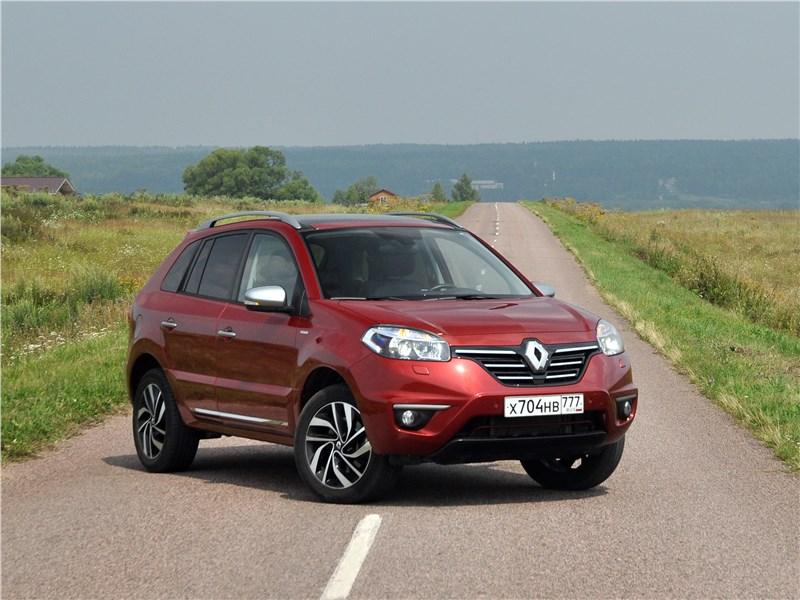 Renault Koleos - renault koleos 2014 мягкой поступью