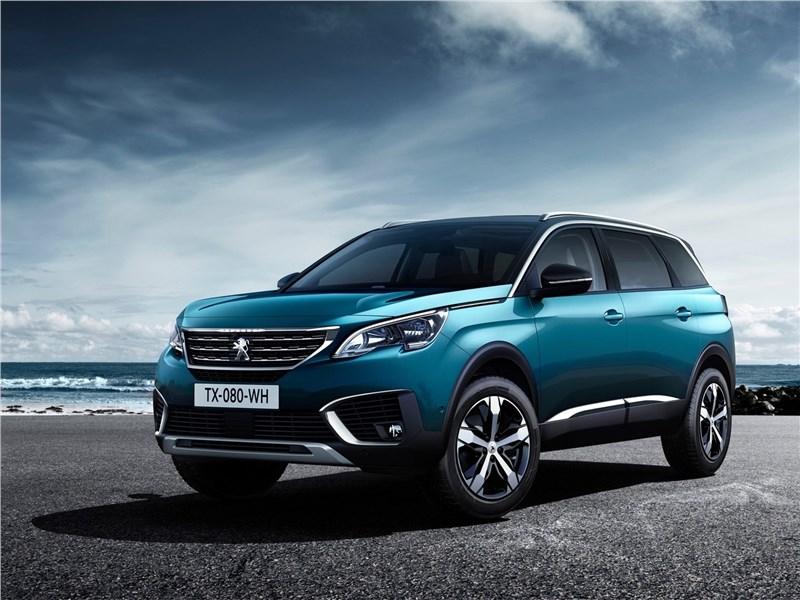 Peugeot 5008 2017 Новая жизнь