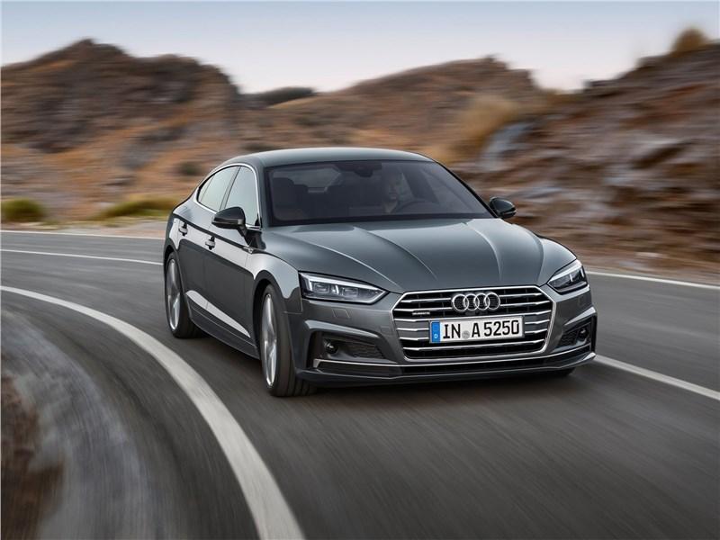 Новый Audi A5 - Audi A5 Sportback 2017 Работа на «пятерку»