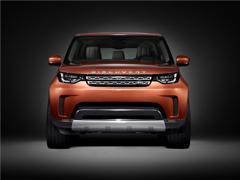 Land Rover Discovery 2017 Британский подход