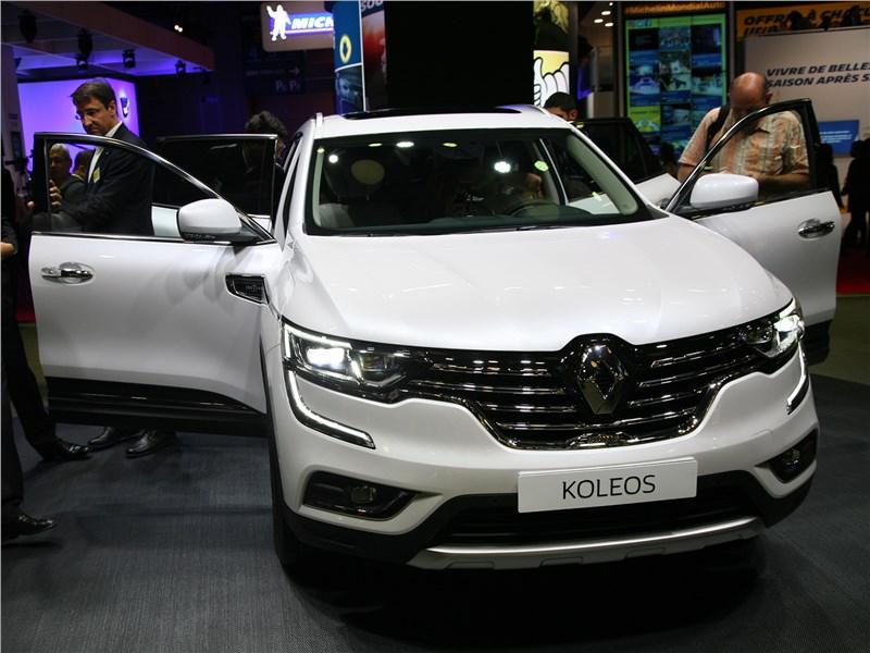 Новый Renault Koleos - Renault Koleos 2017 Флагманский кроссовер от Renault