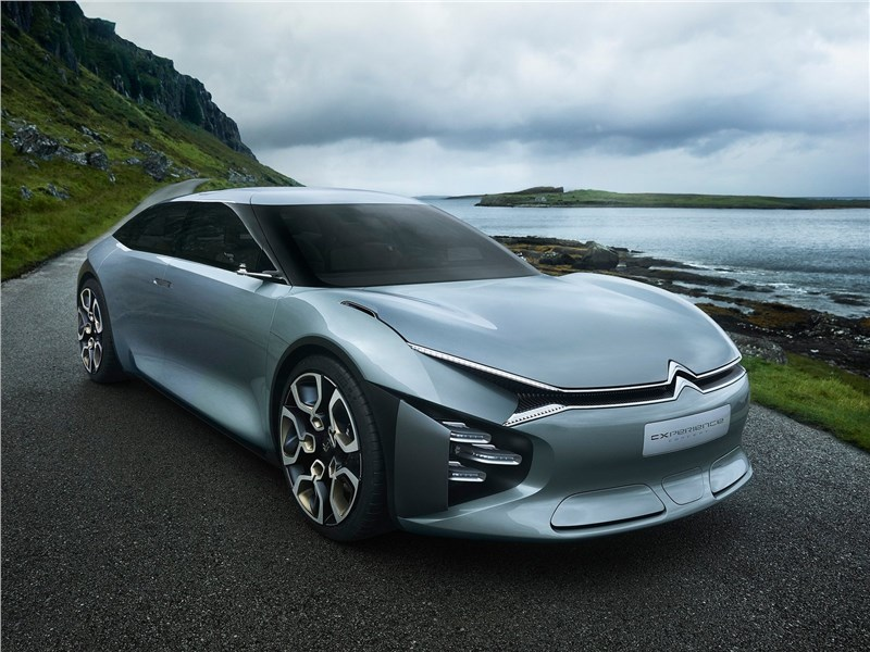 Citroen CXperience Concept 2016 вид спереди