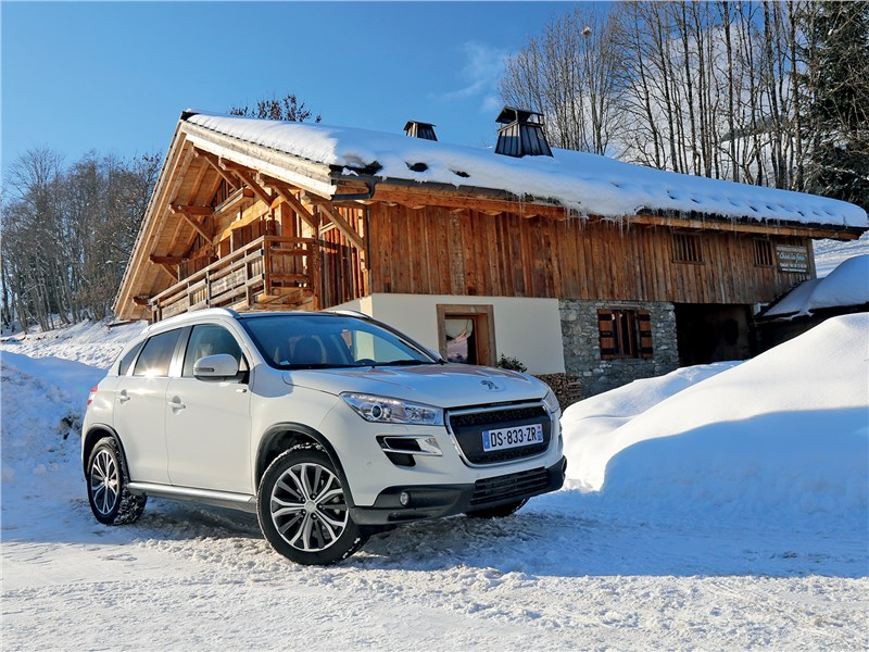 Peugeot 4008 - peugeot 4008 2013 альпийские узоры
