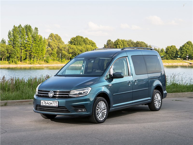 Volkswagen Caddy Maxi 2016 На два фронта