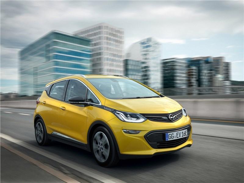 Opel Ampera-e 2017 Электрический скороход