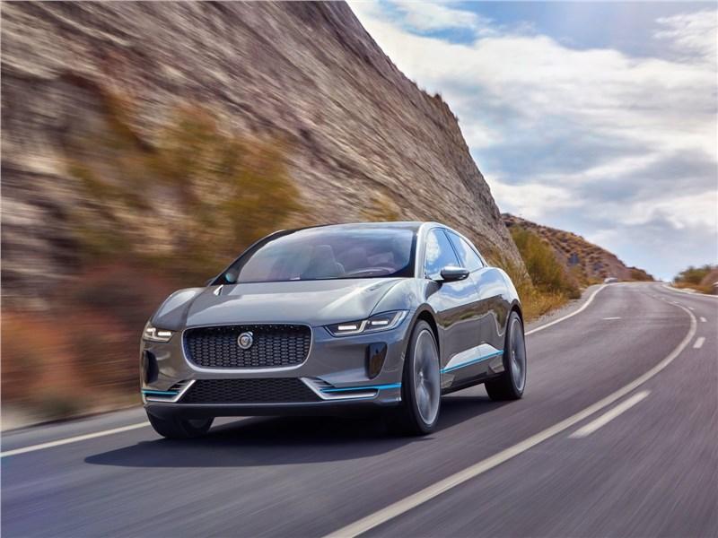 Новый Jaguar I-Pace - Jaguar I-Pace Concept 2016 Первый электрический