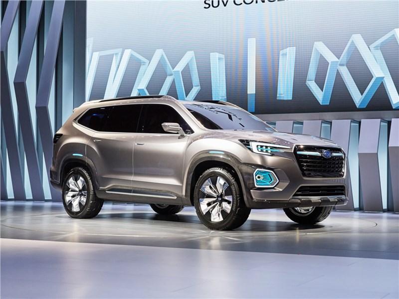 Subaru VIZIV-7 SUV Concept 2016 Глядя в будущее