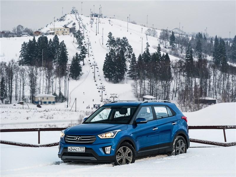 Hyundai Creta - hyundai creta 2016 лыжню!
