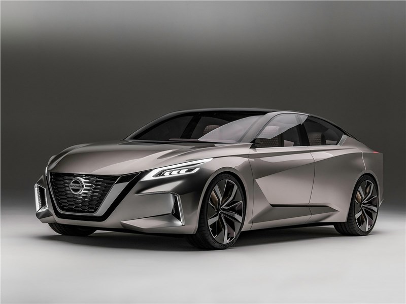 Nissan Vmotion 2.0 Concept 2017 Курс – на автономность