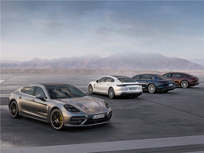 Porsche Panamera 2017 Сосчитай до десяти