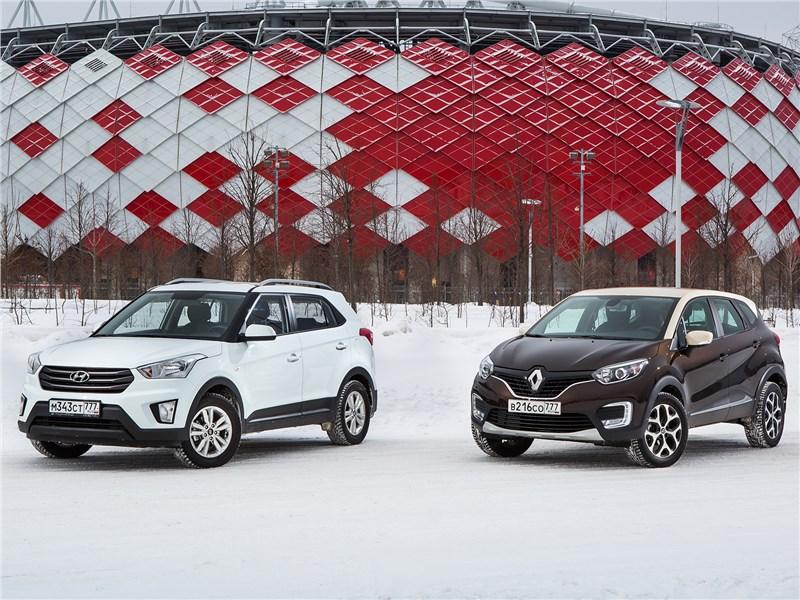 Hyundai Creta, Renault Kaptur - hyundai creta 2016 и renault kaptur 2016 женские штучки