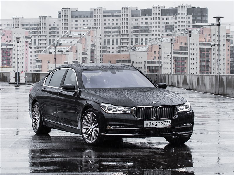BMW 7 series - bmw 740ld xdrive 2016 превосходя ожидания