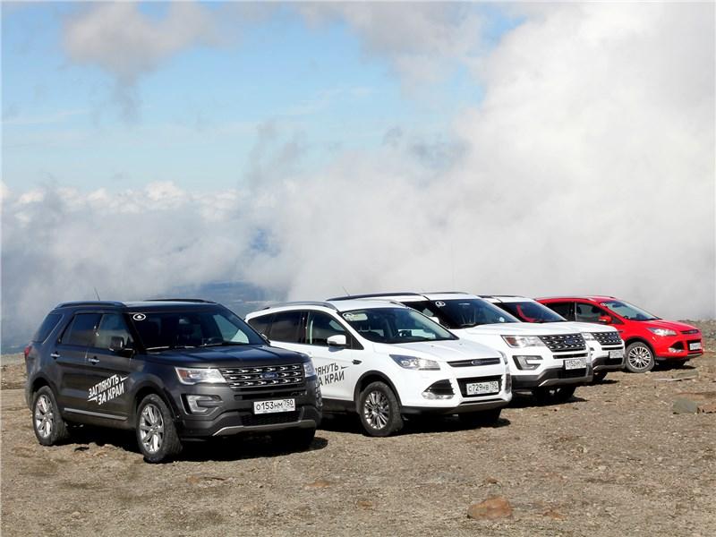 Ford Explorer - дороги россии. если уйти на север