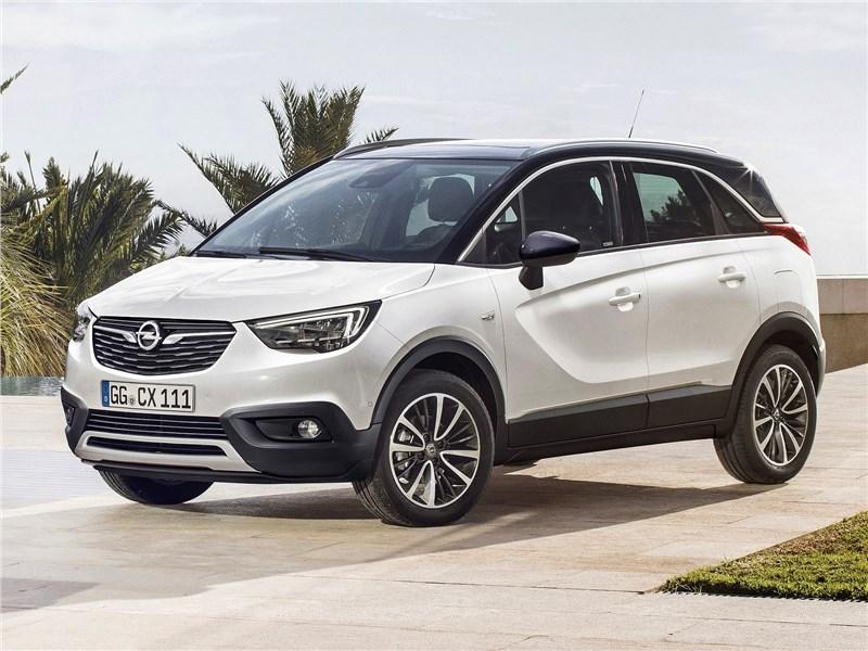 Новый Opel Crossland X - Crossland X 2018 С французским акцентом