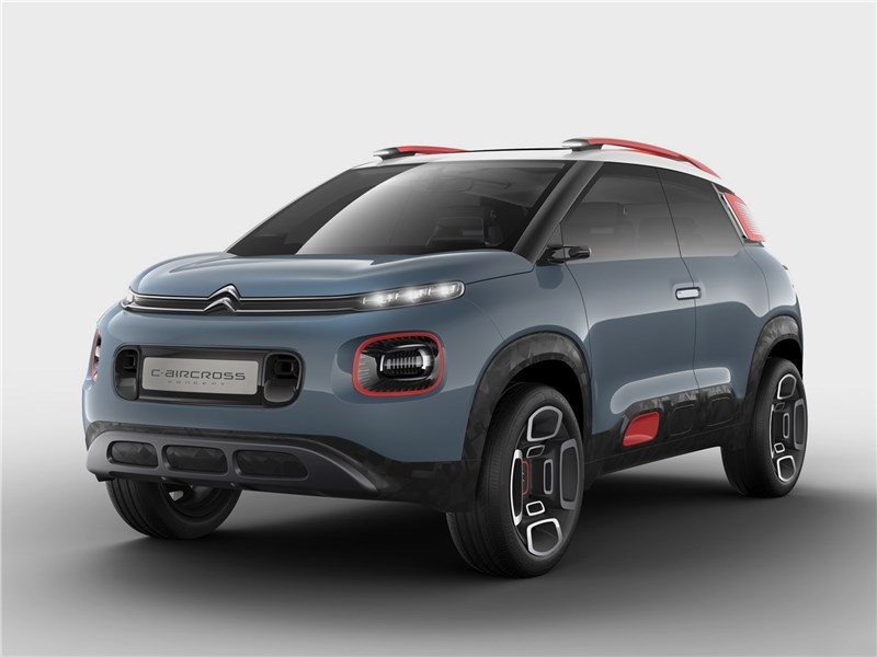 Citroen C-Aircross Concept 2017 Экспрессионист