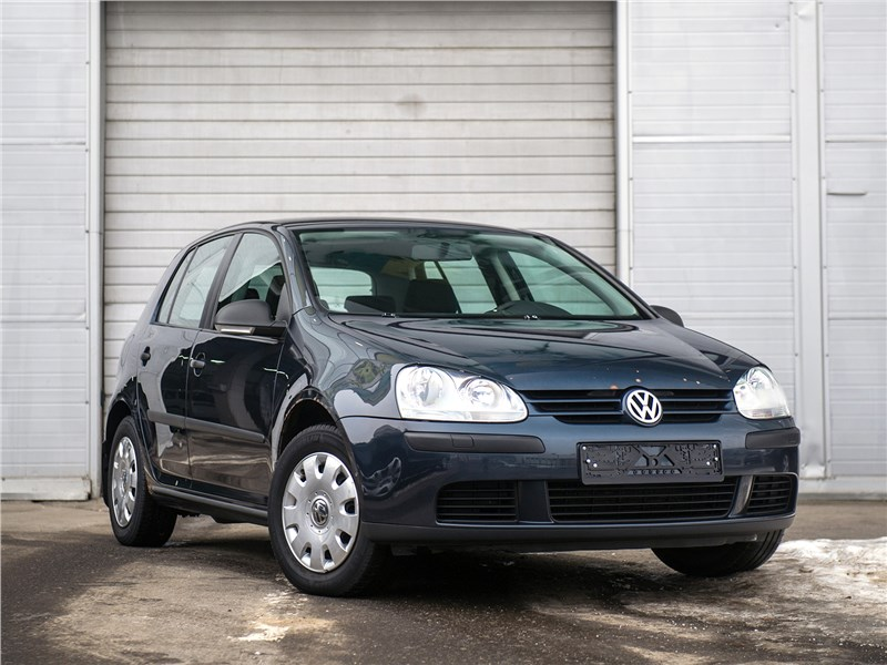 Volkswagen Golf - volkswagen golf 2003 пять из семи