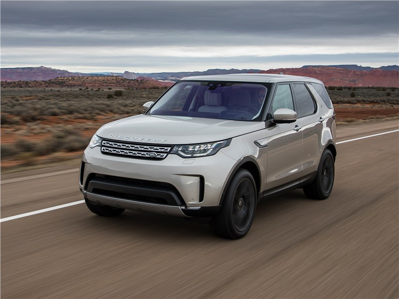 Land Rover Discovery 2017 Уроки мастерства