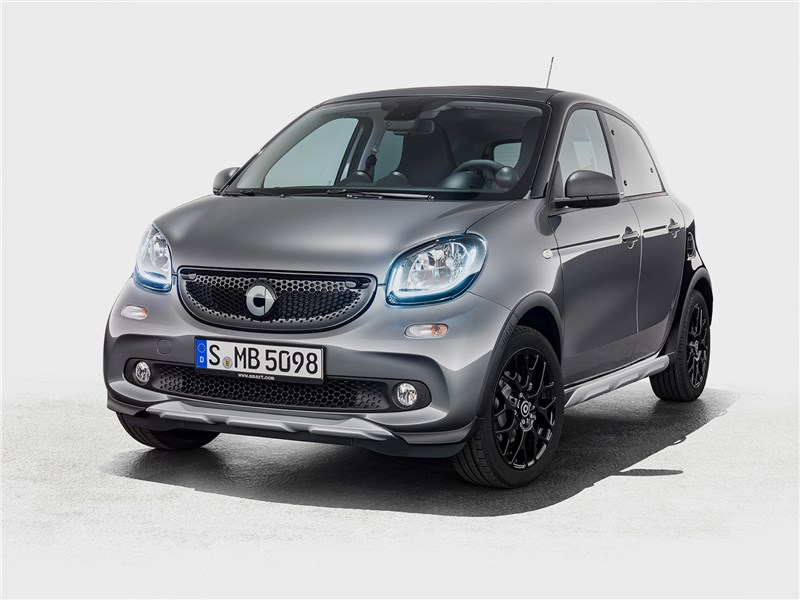 smart forfour Crosstown 2018 Притвора