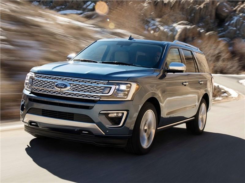 Ford Expedition 2018 Большой янки