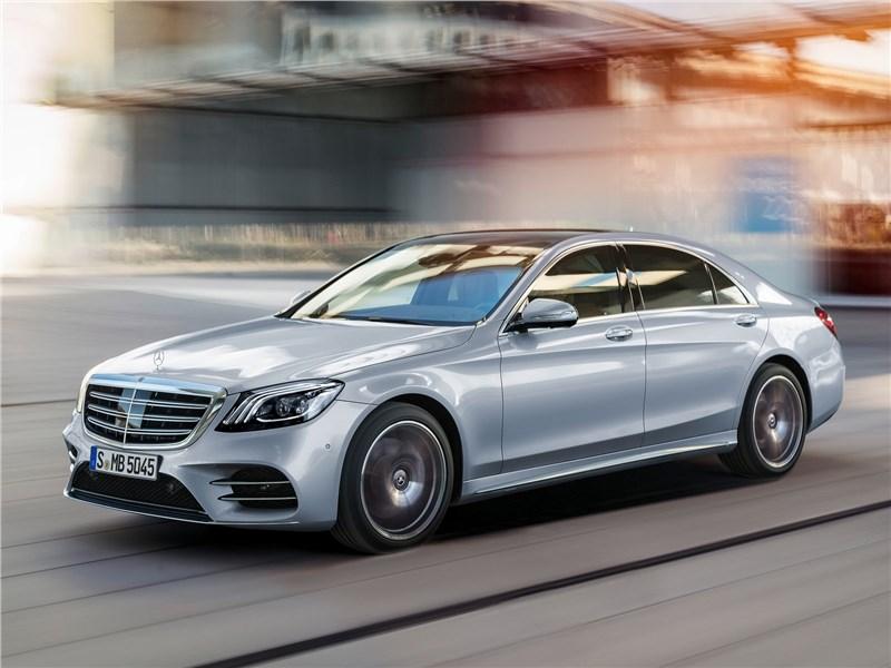 Новый Mercedes-Benz S-Class - Mercedes-Benz S-Class 2018 Искусственный интеллект