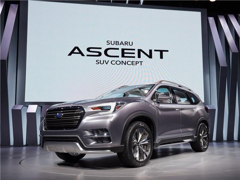 Subaru Ascent SUV Concept 2017 Большой «японец»