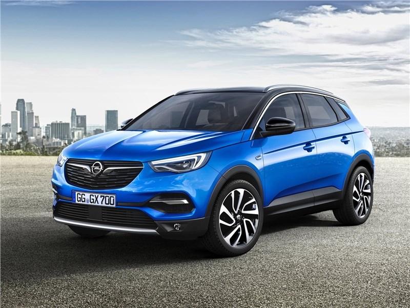 Opel Grandland X 2018 вид спереди