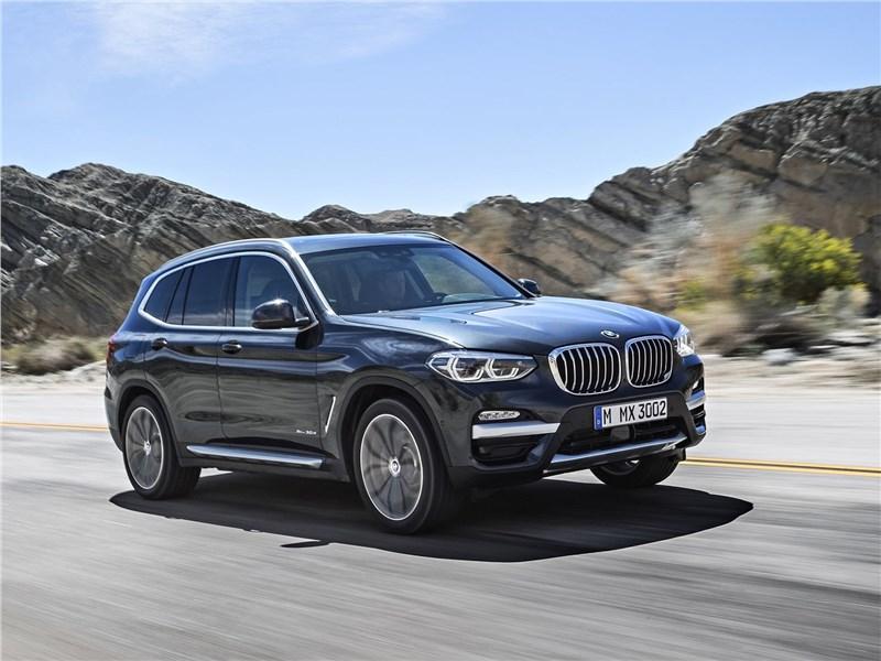 BMW X3 2018 С новыми силами