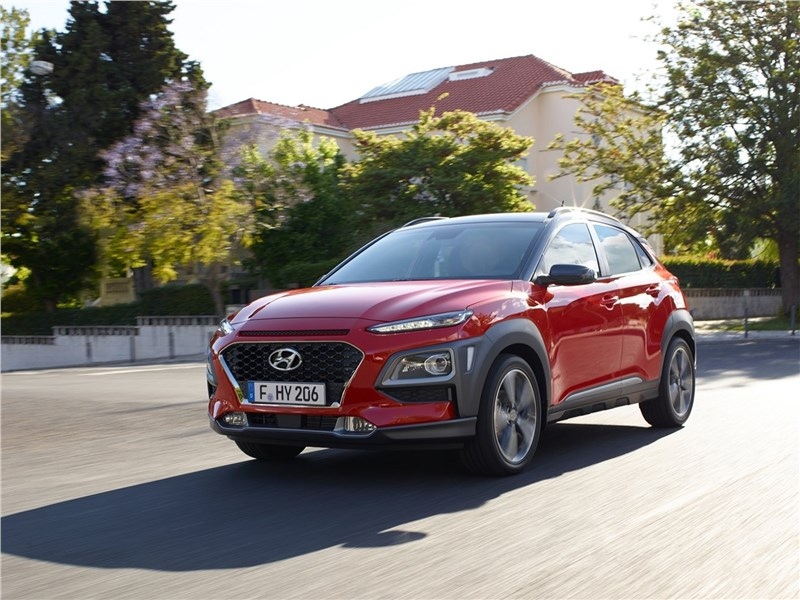 Hyundai Kona 2018 Имидж – всё!