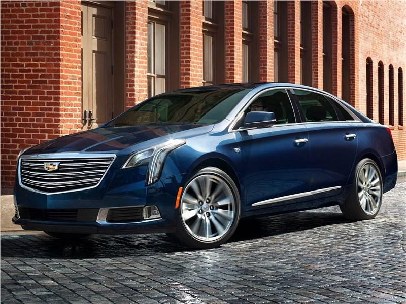 Cadillac XTS 2018 Новый взгляд
