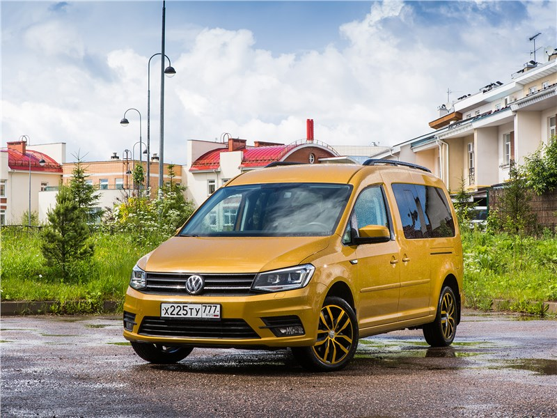 Volkswagen Caddy Family Maxi 2016 Друг семьи