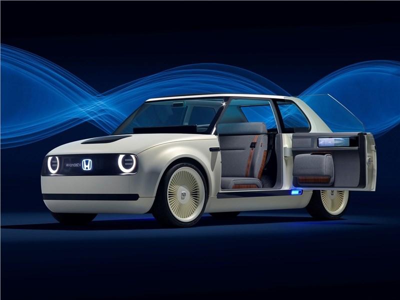 Honda Urban EV Concept 2017 Новое ретро