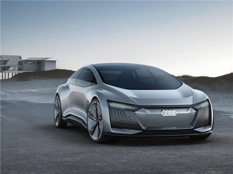 Новый Audi Aicon - Audi Aicon concept 2017 Прощай, руль