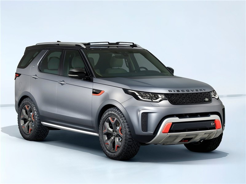 Новый Land Rover Discovery- Land Rover Discovery 2017 С бездорожьем на