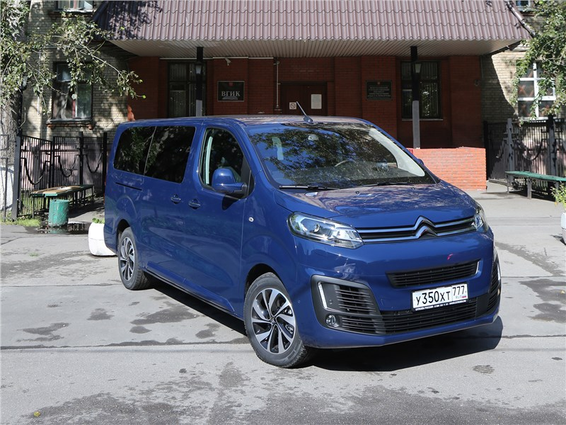 Citroen SpaceTourer - citroen spacetourer 2016 взлетная сила
