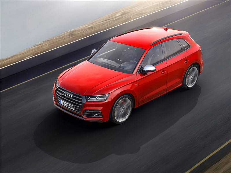Audi SQ5 - audi sq5 3.0 tfsi 2018 сила – в спокойствии