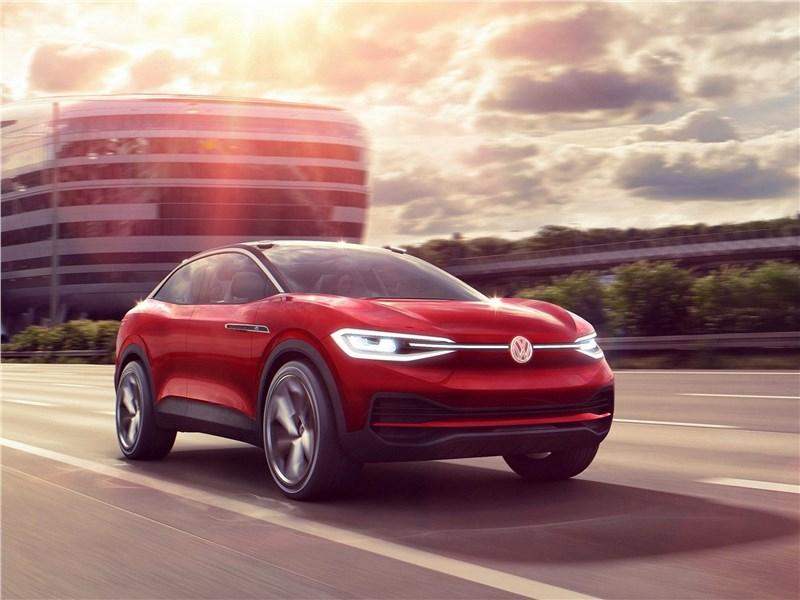 Новый Volkswagen ID Crozz - Volkswagen ID Crozz Concept 2017 Команда на взлет