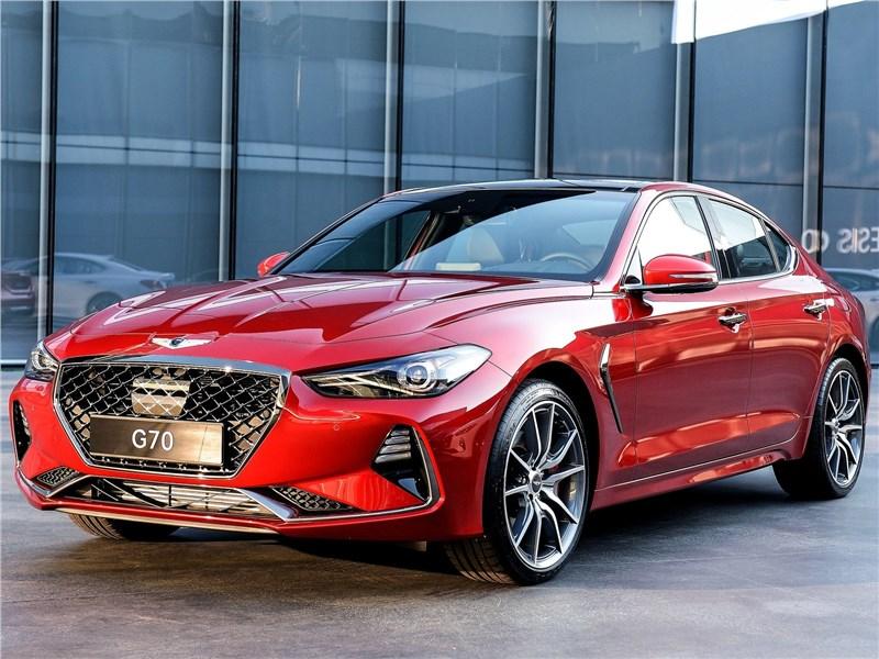Новый Hyundai Genesis G70 - Genesis G70 2018 Новый игрок