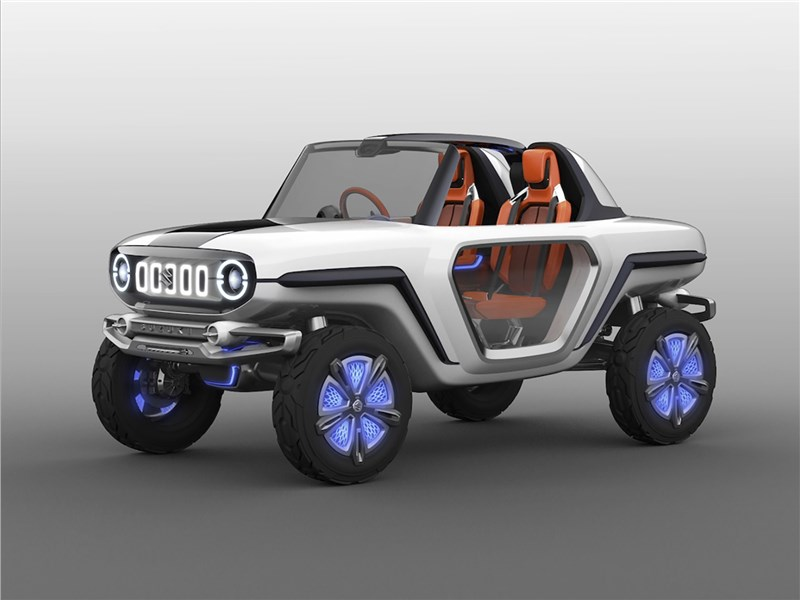Новый Suzuki e-Survivor - Suzuki e-Survivor concept 2017 Сам себе рулевой
