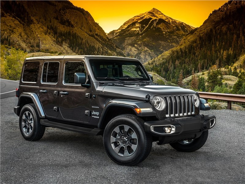 Jeep Wrangler Unlimited 2018 Верен себе