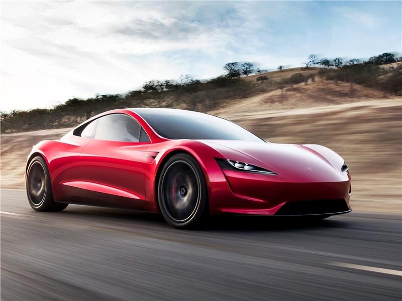 Tesla Rodster Concept 2020 Быстрее не бывает