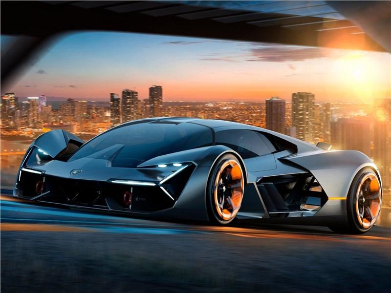 Lamborghini Terzo Millennio Concept 2017 Пришелец из будущего
