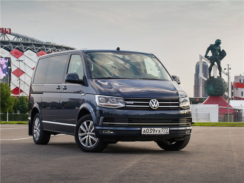 Volkswagen Multivan Highline: гибрид LCV и лимузина