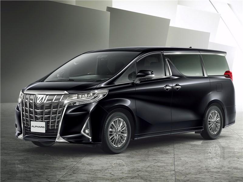 Toyota Alphard 2018 Страшное дело