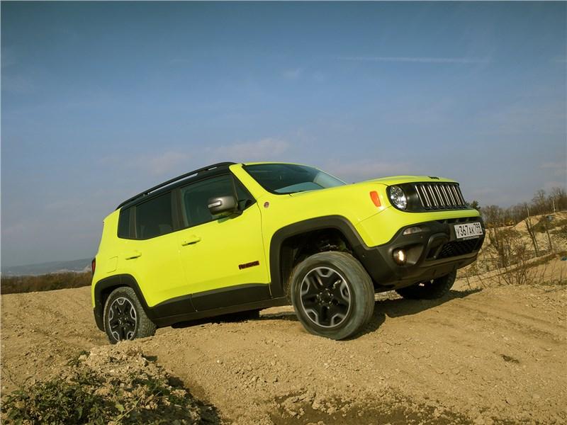 Мал Jeep Renegade Trailhawk, да едет по-взрослому