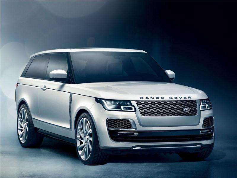 Новый Land Rover Range Rover - Land Rover Range Rover SV Coupe 2019 Дефицитный люкс